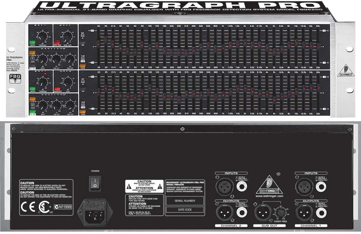 Manual De Ecualizador Yamaha Eq